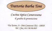 Trattoria Barba Toni