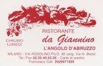 Ristorante Da Giannino - L'Angolo d'Abruzzo