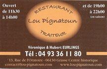 Restaurant Traiteur Lou Pignatoun