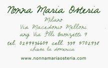 Nonna Maria Osteria