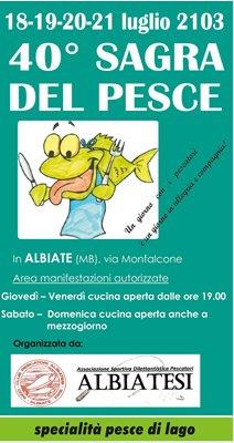 Sagra del Pesce di Albiate